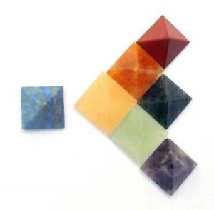 Pyramid-Healing-Crystal-Set-Spirituality-Chakra-Wicca-Natural-Stone-of-20