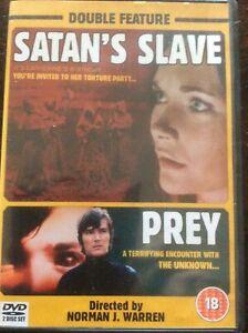 OOP-Satan-s-Slave-Prey-2-dvd-Pal-Norman-J-Warren-widescreen-extras-commentaries