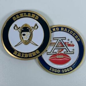 OAKLAND-RAIDERS-AFL-NFL-1960-1969-COMMEMORATIVE-FOOTBALL-CHALLENGE-COIN