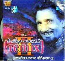 KULDEEP MANAK - (KULDIP) REMIX VOL 2 SONGS CD - FREE UK POST