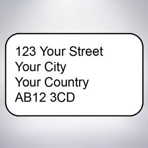 Custom Return Address Labels Self Adhesive Custom Printed Small Stickers - <span itemprop='availableAtOrFrom'>leicester, Leicestershire, United Kingdom</span> - Custom Return Address Labels Self Adhesive Custom Printed Small Stickers - leicester, Leicestershire, United Kingdom