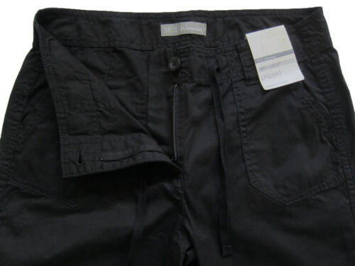 New Womens Marks /& Spencer Black Crop Trousers Size 14 12