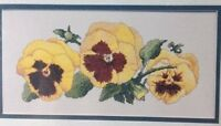 Silver Lining midas Touch 1&2 Flower Floral Counted Cross Stitch Pattern Chart