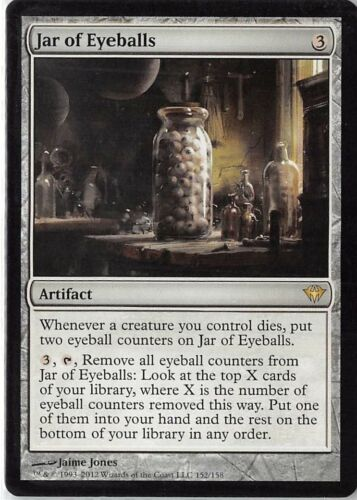 Jar of Eyeballs *PLAYSET* Magic MtG x4 Dark Ascension SP