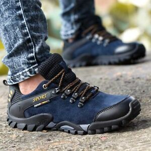 Mens Athletic Shoes Casual Trekking Comfy Outdoor Hiking ...
