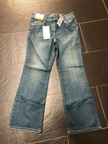 NEXT LIFT SLIM /& SHAPE BOOTCUT HIGH RISE JEANS BLUE DENIM 18 REG  654-166