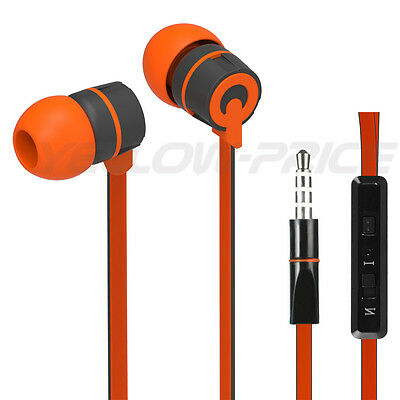 Tange-Free Headphones Earphones With Mic for HTC One M7 One S V X Mini Headset