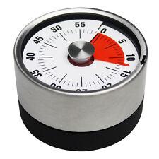 6CM Baldr Stainless Steel Magnets Fridge Kitchen Timer Mechanical Reminder Sport