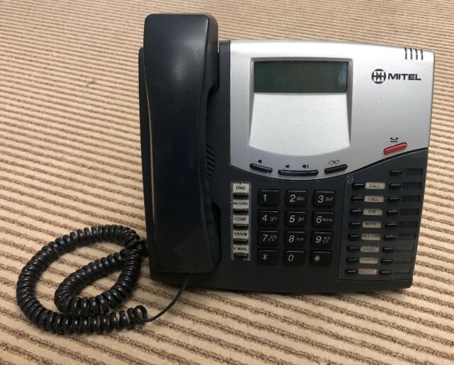 Mitel 8520 Intertel 550 8520 LCD Display Office Phone for