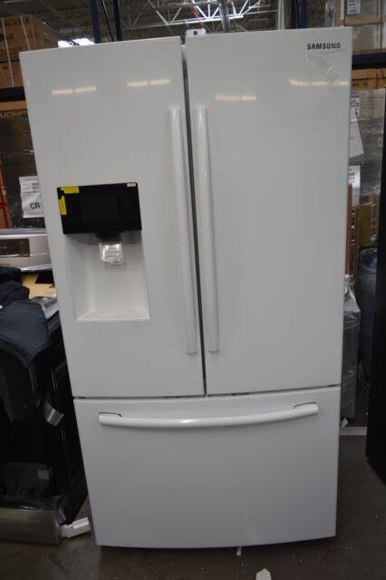 Samsung Rf263beaeww 36 White French Door Refrigerator Nob 35097 Cln For Sale Online