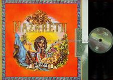LP-- NAZARETH  RAMPANT // 6370401 GERMANY WITH LYRICS