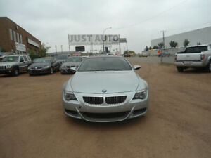 2008 BMW M6 2dr COUPE M6-LEAHTER-5.0L V10-RWD-FINANCE AVAILABLE