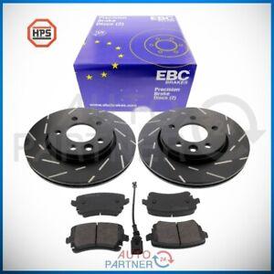 EBC-Brake-for-VW-T5-T6-Tdi-Brake-Discs-294-Black-Dash-Carbon-Brake-Pads-Rear