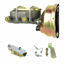1960 66 Chevy Truck C10 C20 9 Power Brake Booster Kit Side Discdrum 3q1a1 Fits Truck