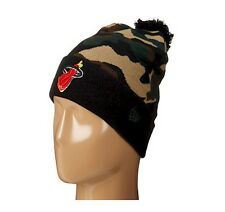 huge selection of 8ee4a 848a0 item 2 New NBA Miami Heat New Era Camo Cam Top 2 Hat Knit Cap Beanie -New  NBA Miami Heat New Era Camo Cam Top 2 Hat Knit Cap Beanie