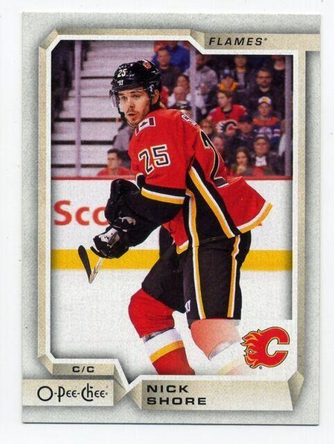 2018-19 O-Pee-Chee #460 NICK SHORE Calgary Flames 2019 OPC HOCKEY CARD
