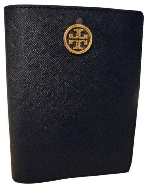 007c6c10585 Tory Burch Robinson Passport Holder Black Saffiano Leather 33 off List