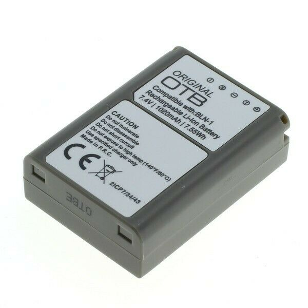 Original OTB Battery For Olympus BLN-1