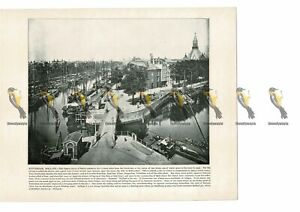 Rotterdam-Holland-Netherlands-Book-Illustration-Print-1899