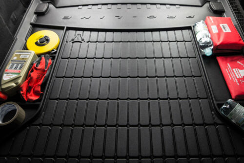 Premium Gummi Kofferraumwanne mit Organizer für Fiat Panda 3 III 312 319 2012-18