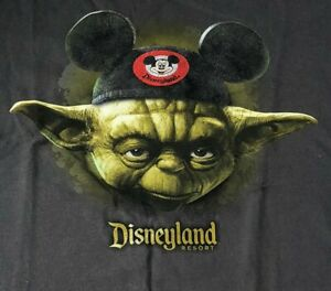 Star Wars Disneyland Mickey Mouse R2D2 Blue Kids Youth Tee Shirt LARGE NWT
