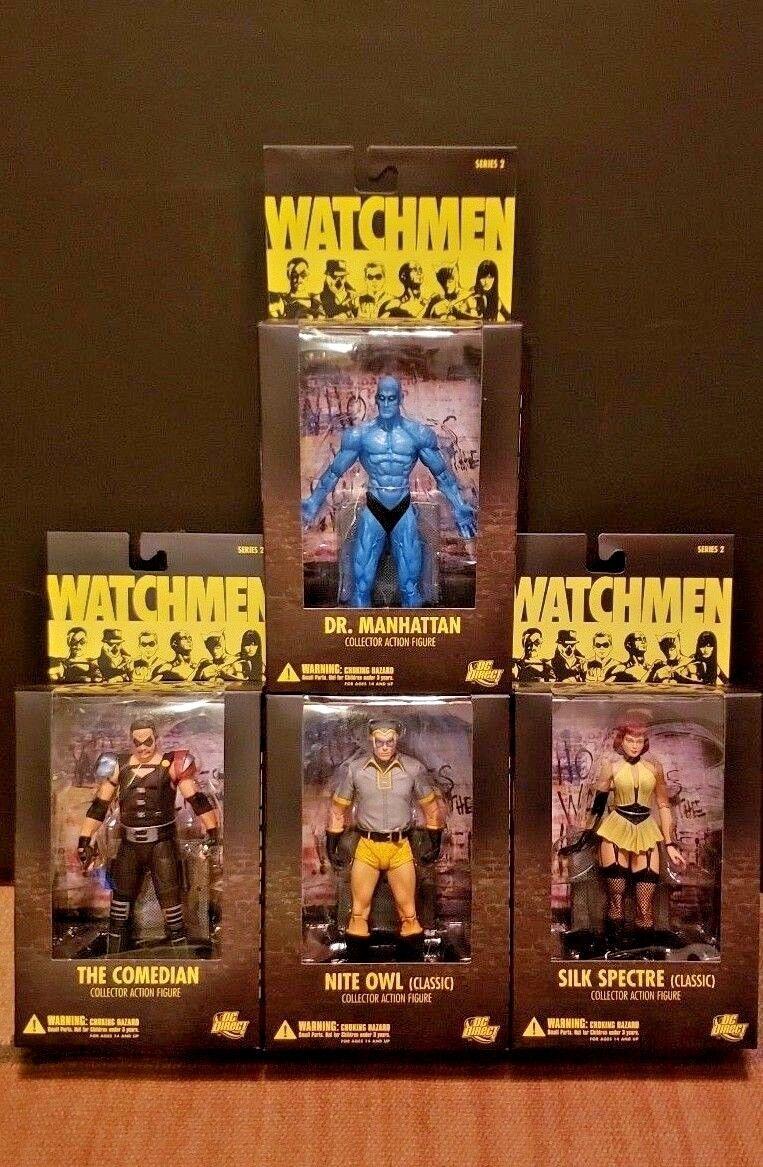 DC Direct WATCHMEN serie 2 4 azione cifra Set