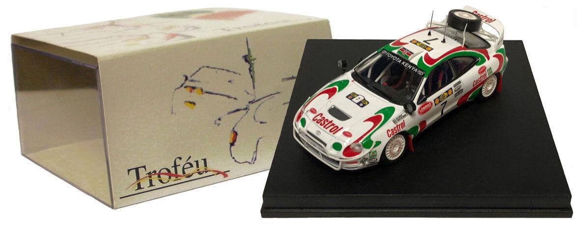 marca famosa Trofeu 713 Jugueteota Celica GT-Cuatro    7 Safari Rally 1997-Ian Duncan escala 1 43  calidad garantizada