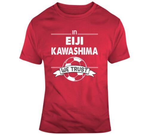 Eiji Kawashima Japan Goal World Soccer Football Futbol T Shirt