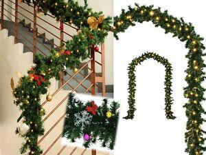 Albero Di Natale 5 Metri.Ghirlanda Di Natale Addobbi Natalizi Catena Luminosa 5 20 Mt Decorazioni Natale Ebay