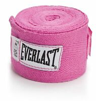 Everlast Women's Boxing Classic 108'' Hand Wraps Pink Level 1 (t4)
