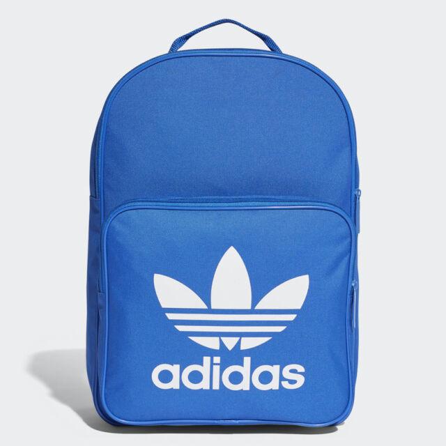 8861750536 BK6722 adidas Backpack – BP Classic Trefoil Blue white Unisex 2017 ...