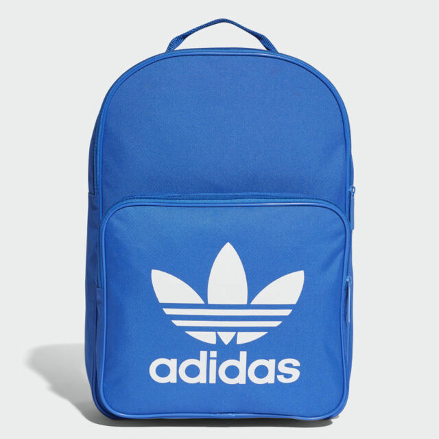 BK6722 adidas Backpack – BP Classic Trefoil Blue white Unisex 2017 ... 84b4fa8b6a482