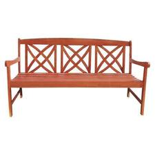 Sensational 5 Foot Eucalyptus Wood Garden Bench V205 1 For Sale Online Ibusinesslaw Wood Chair Design Ideas Ibusinesslaworg