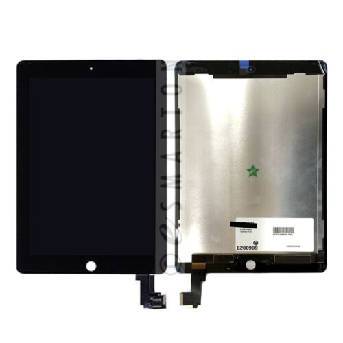 LCD Screen Digitizer Touch Assembly Black For iPad Air 2 A1566 A1567 Replacement