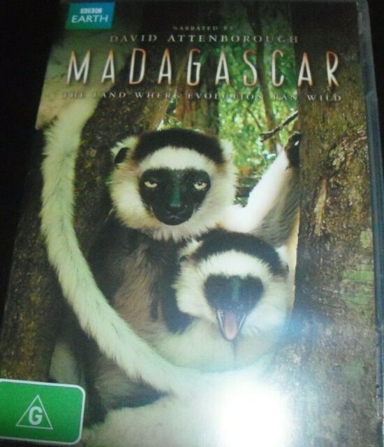 Madagascar (David Attenborough) BBC Earth (Australia Region 4) DVD – Like New