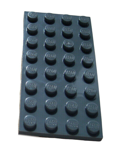 LEGO 8 Old Dark Gray Slope 1x2 45 Degree 7419 10129 10024 4730 7412 7191 7181