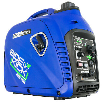 DuroMax XP2000EH 2000 Watt Dual Fuel Digital Inverter Hybrid Portable Generator