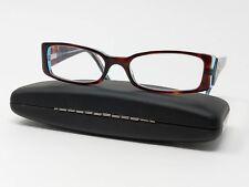 128966eb7ea Bulova Eyeglass Frames Kabul Tortoise Blue Full Rim Rectangular 51  17-135