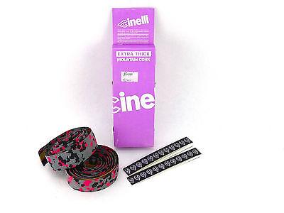 WHITE NOS VINTAGE Genuine Cinelli CORK Handlebar Tape Made in Italy!