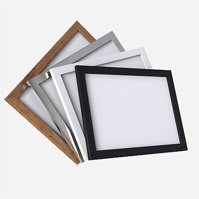 Picture Photo Poster frame Black White Rustic Chrome Multi Sizes A1 A2 A3 A4 A5