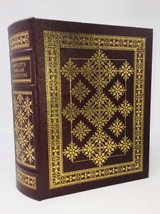 Leather and Gilt BARTLETT'S FAMILIAR QUOTATIONS 17th Ed Easton Press 2003