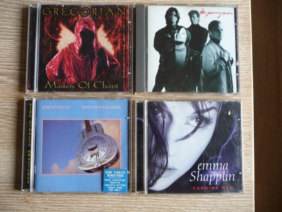 Diverse: CD SAMLING, rock
