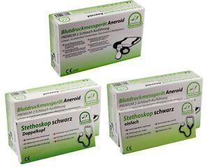 Medi-Inn Blutdruckmessgerät Aneroid Premium 2-Schlauch-System mit Etui