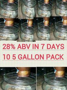 ... 10-5-GALLON-PACKS-ETHANOL-YEAST-MEAD-MOONSHINE- & 10 5 GALLON PACKS ETHANOL YEAST MEAD MOONSHINE TURBO BULK DISTILLERS ...