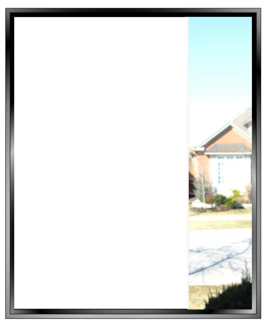 OPAQUE WHITE GLASS PRIVACY WINDOW FILM ETCH FABLON 4FT   1220mm VINYL