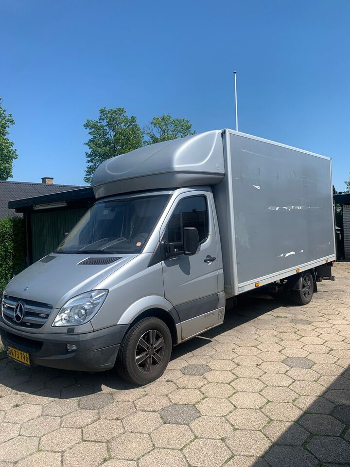 Mercedes, Sprinter 318, 3,0 CDi Alukasse m/lift