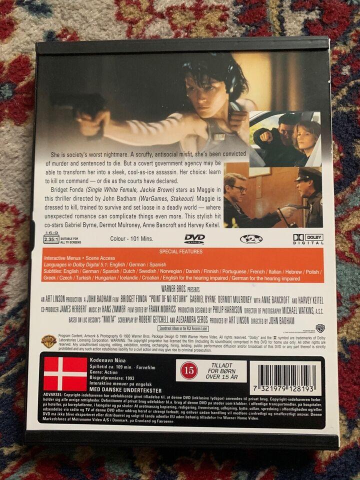 The Assassin - Point of No Return, instruktør John Badham,