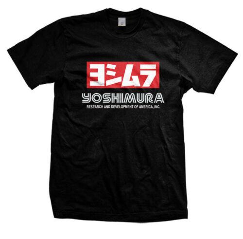 Yoshimura Exhaust Racing Motor T-Shirt size S-3XL