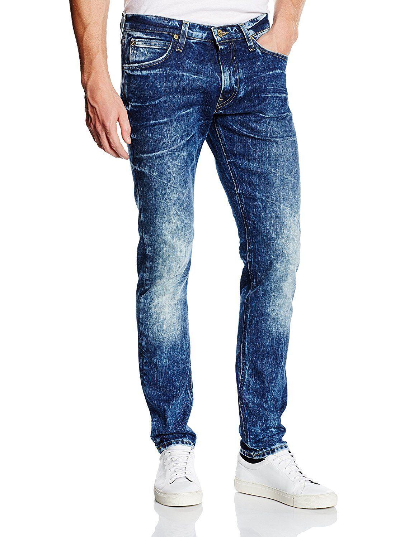 Lee Jeans Luke Slim Fit Taperot Leg W31 L34 Frozen Waters 31 34 Vintage
