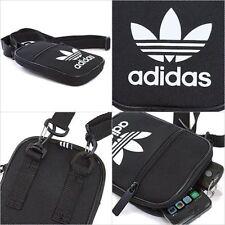 Adidas Mini Festival Mens Womens Cross Shoulder Bag Black Unisex Travel BNWT a05069e33d307